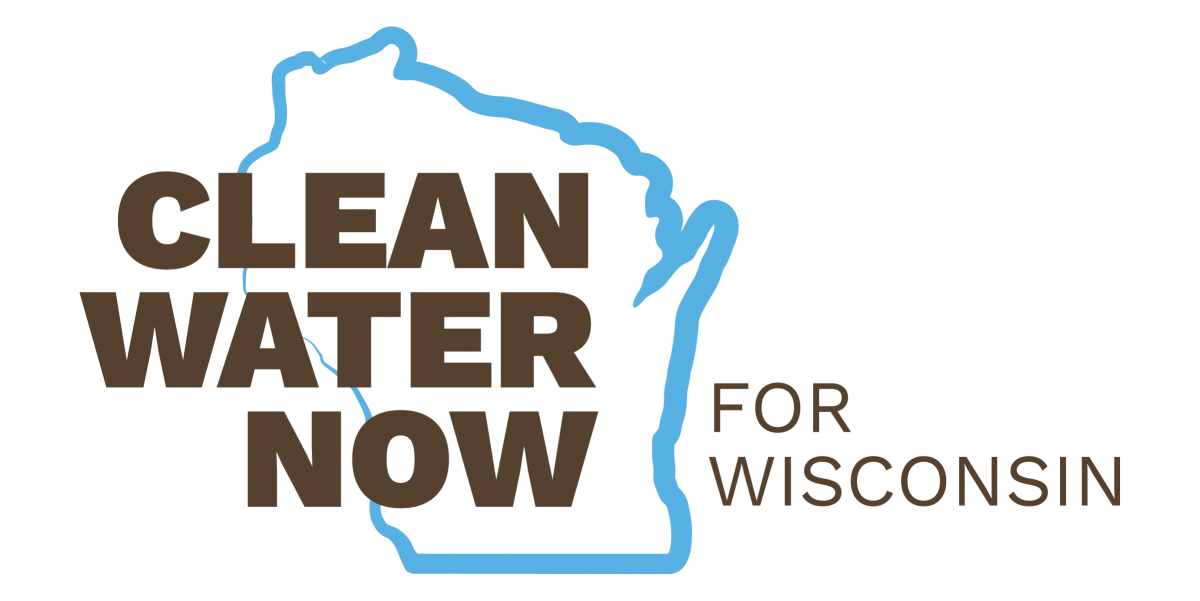 Clean Water Now For Wisconsin Logo